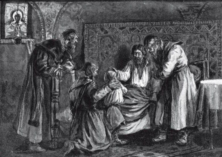 С. Зейденберг, «Василий III благословляет перед кончиной сына своего Ивана IV»
