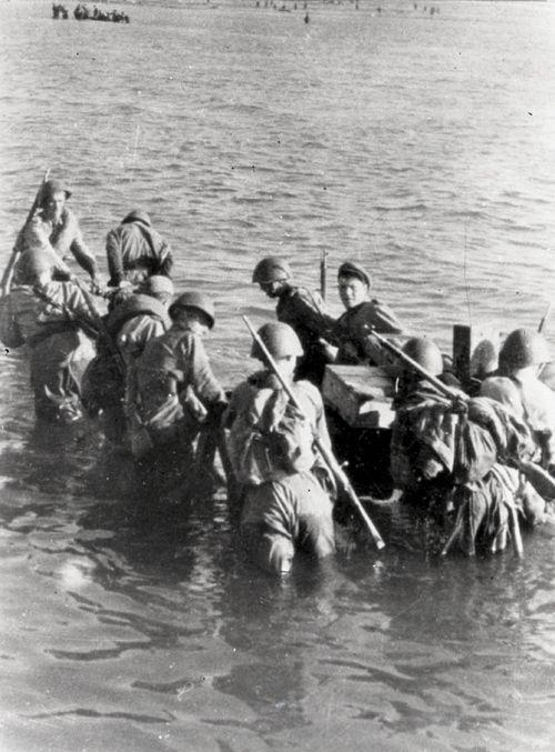 Высадка советского десанта на о. Сааремаа