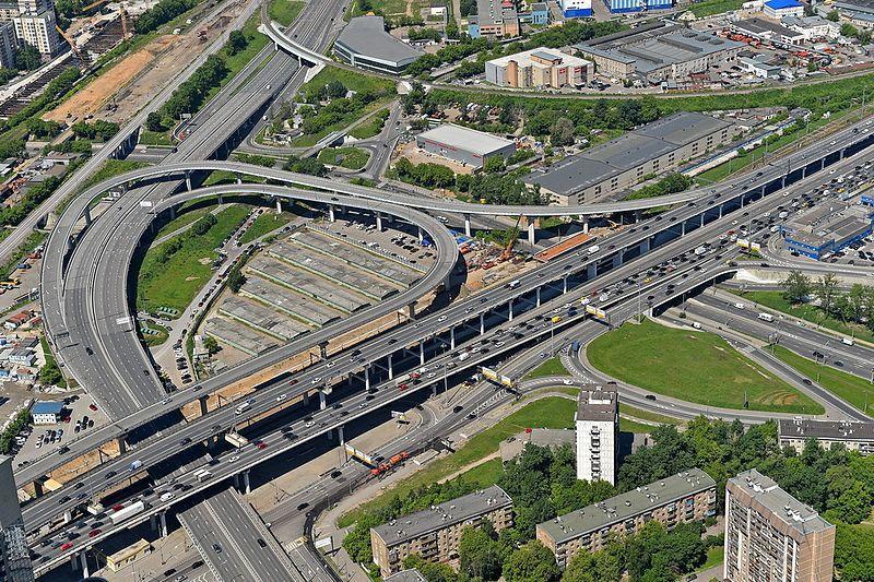 Транспортная развязка ТТК и 3-й Магистральной улицы