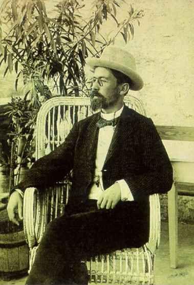 А.П. Чехов. Фотография А. Иваницкого. Ялта, август 1901 г