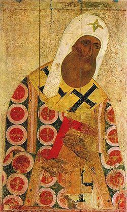 Митрополит Петр (икона XV века)