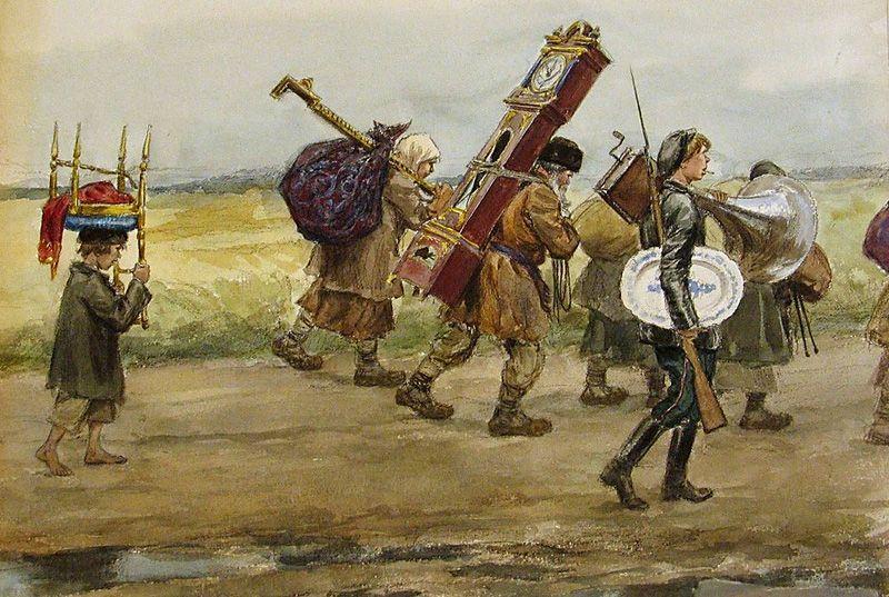 Иван Владимиров. Имущество с помещичьей усадьбы