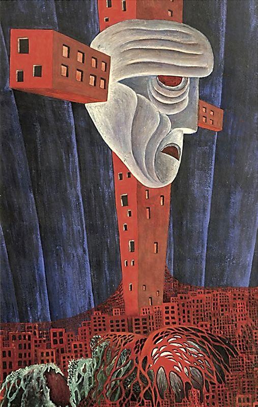 Александр Зиновьев. «Распятие». 1975