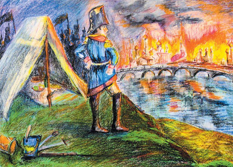 Наталья Завалишина, 13 лет. «Наполеон. Пожар Москвы»