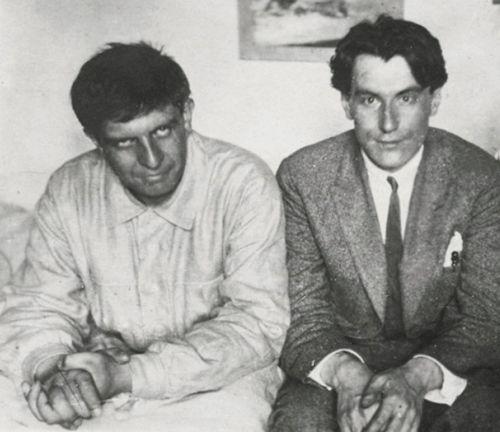 Эдуард Багрицкий и Валентин Катаев. 1919 год