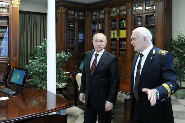 Путин в Горном