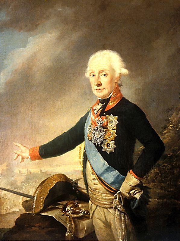 Й. Крейцингер. «Портрет А.В. Суворова». 1799