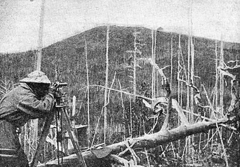 Первая экспедиция к месту падения Тунгусского метеорита. 1927
