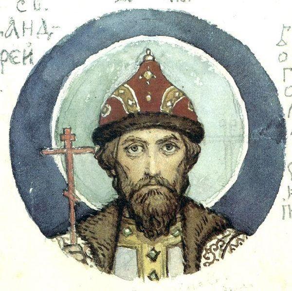 В. Васнецов. Великий князь Андрей Боголюбский