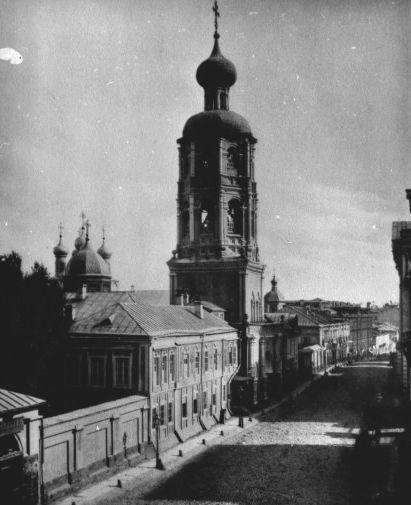 Высоко-Петровский монастырь, 1880-е
