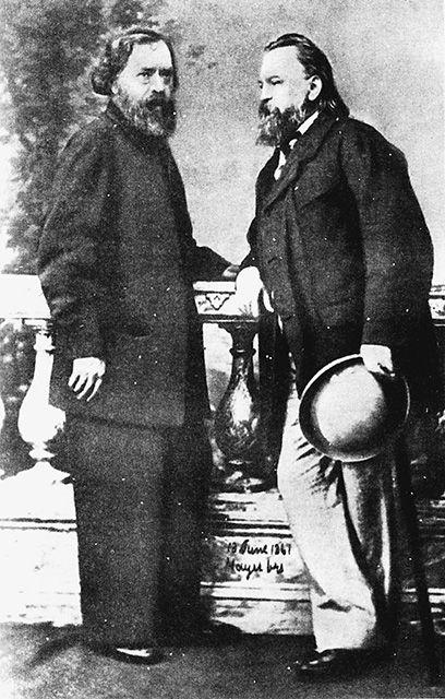 Николай Огарев и Александр Герцен