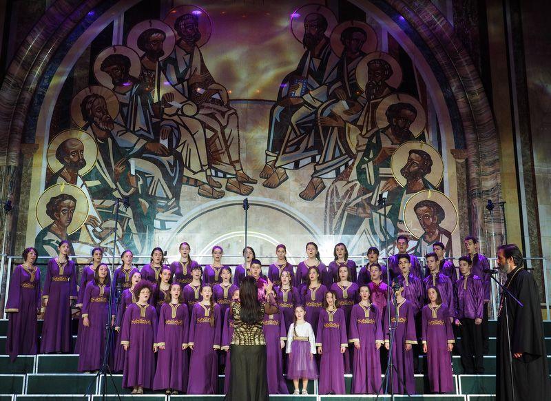 Детский церковный хор имени Бранко, г. Ниш, Сербия