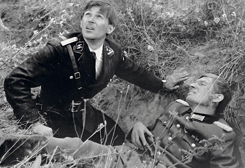 Кадр из фильма «Щит и меч». 1968