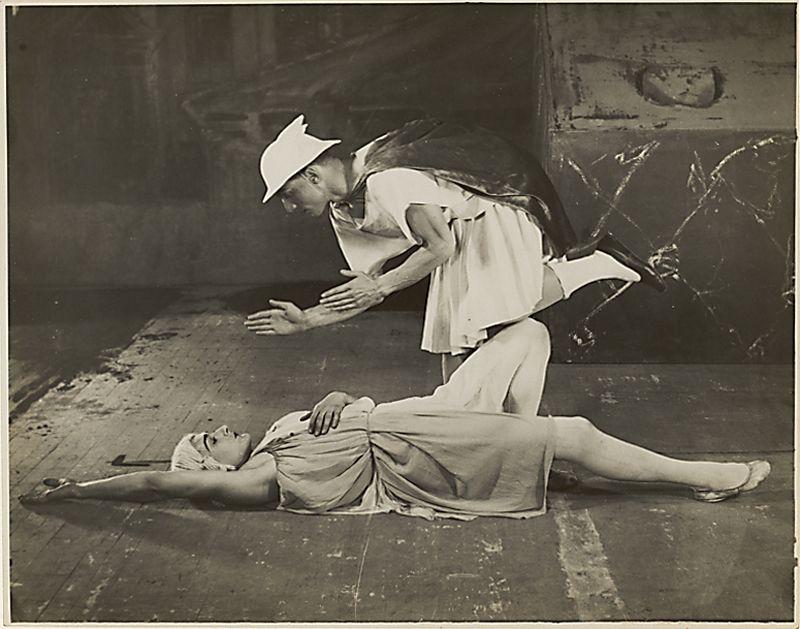 Сцена из балета «Меркурий»