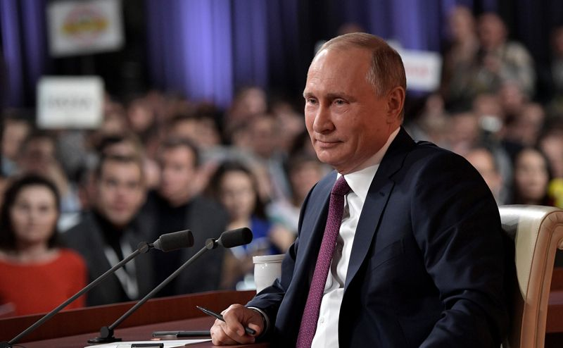 Хотите, чтобы унас бегали поро… Саакашвили— Путин ответил Собчак