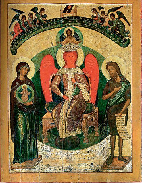 Софийский собор в Новгороде. София Премудрость Божия. XV век