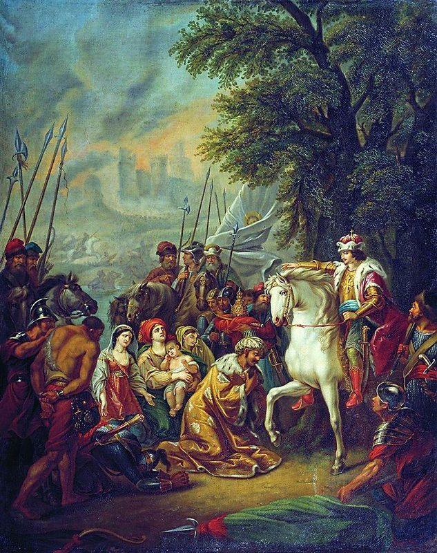 Г. Угрюмов. «Иван IV под Казанью»