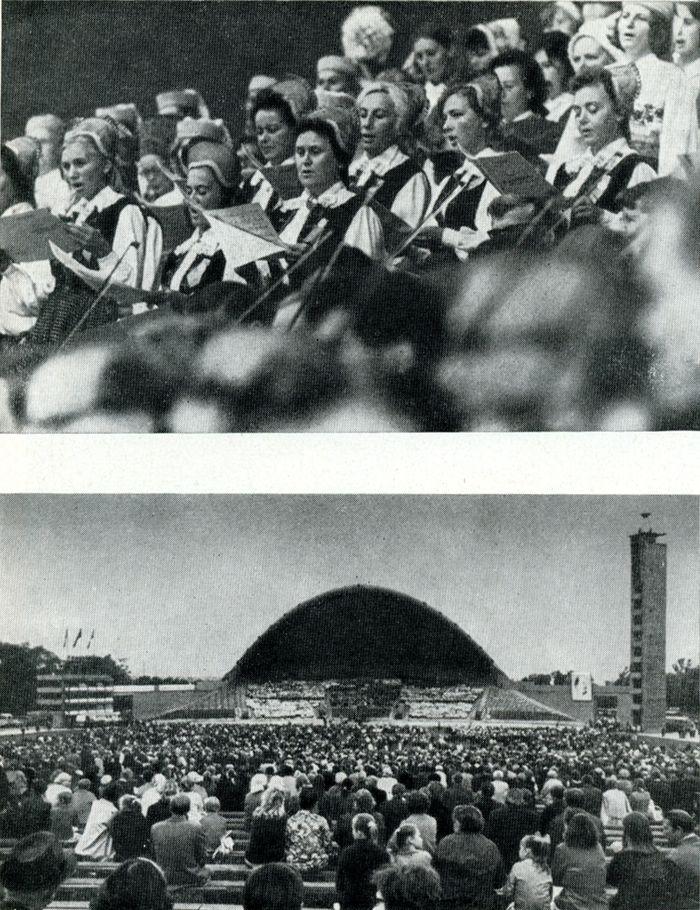Исполнение «Патетической оратории» в Таллине, 1970
