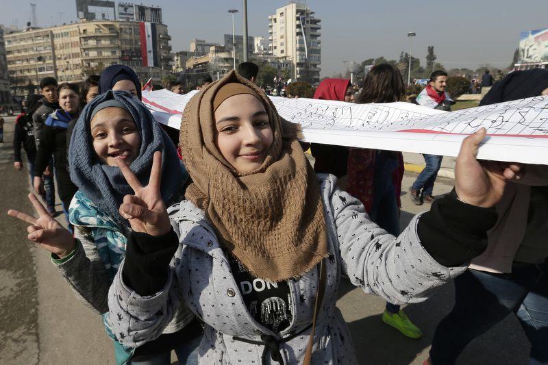 Фото: Hassan Ammar/AP/TASS