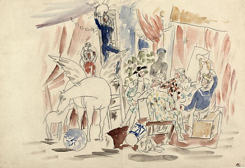 «Пикассо и танец»