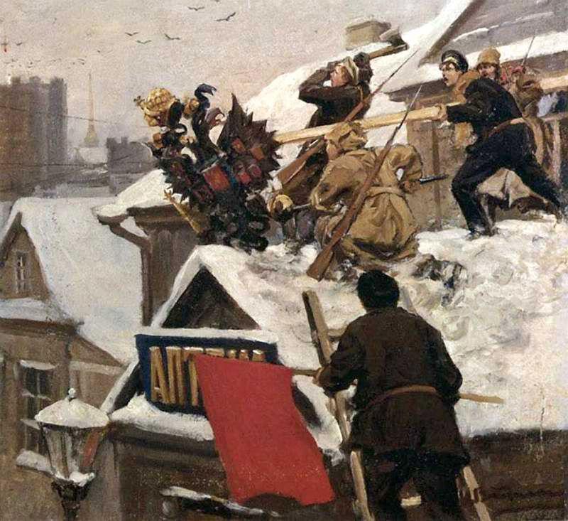 Иван Владимиров. «Долой орла!». 1917–1918