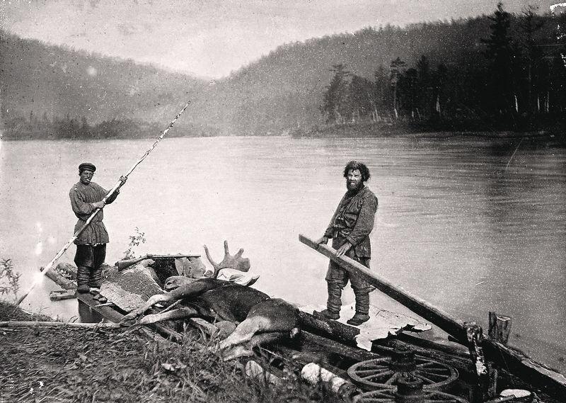 Переселенцы. Фотография начала XX в.