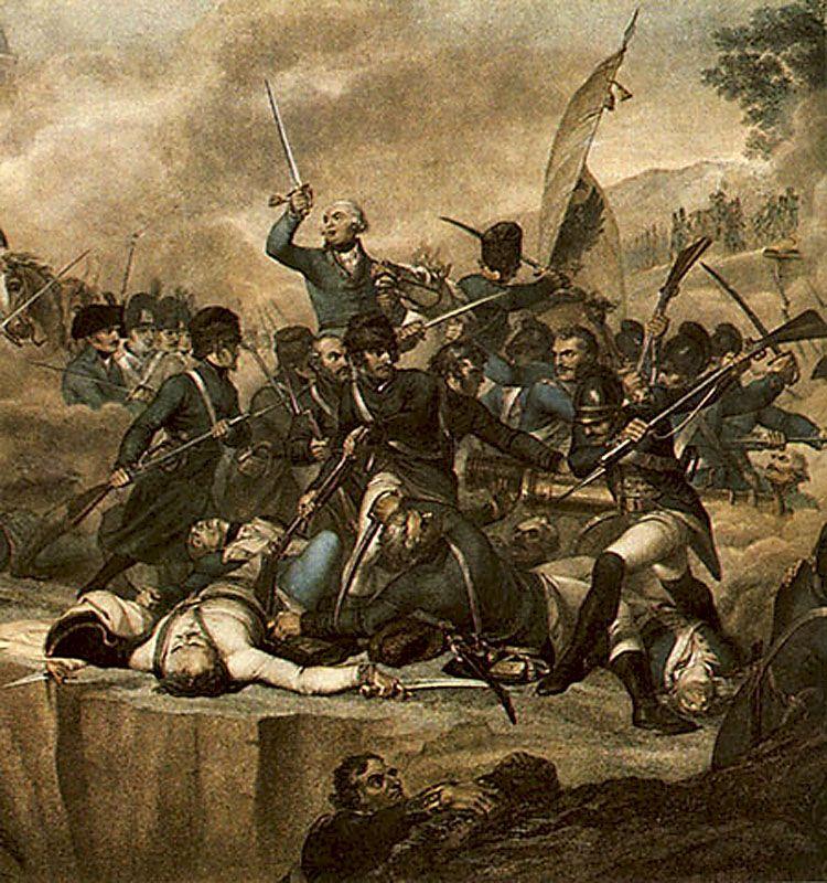 Луиджи Спиавонетти. «Сражение на реке Адда»