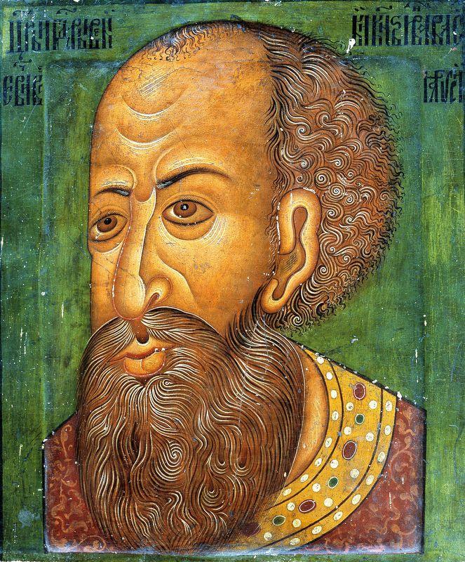 «Иван IV». Парсуна XVI в.