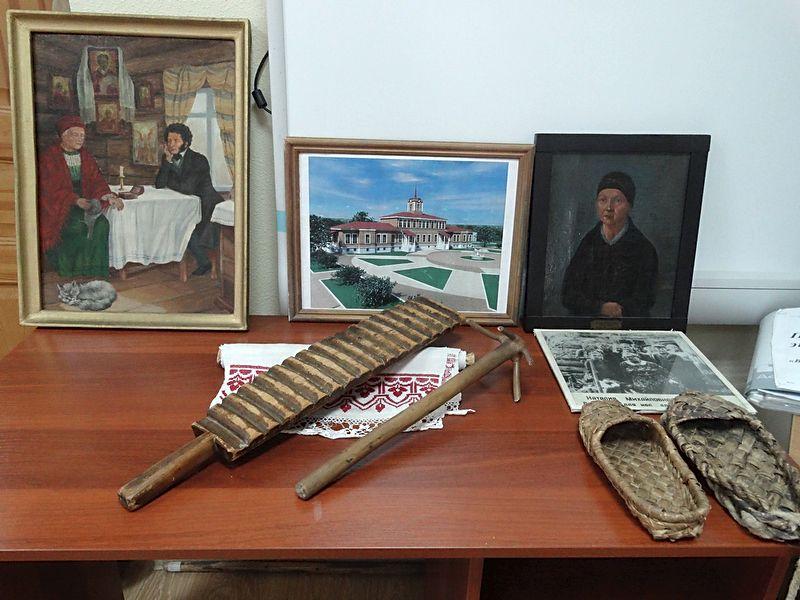 В музее «Домик няни А.С. Пушкина»