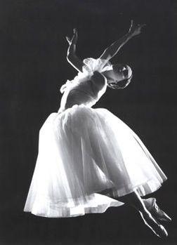 В балете «Жизель»