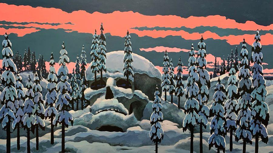 Зима по расписанию в галерее ARTSTORY