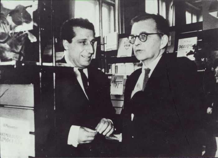 С Дмитрием Шостаковичем
