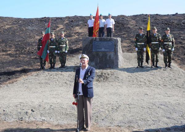 Открытие памятника на Суворовской горе