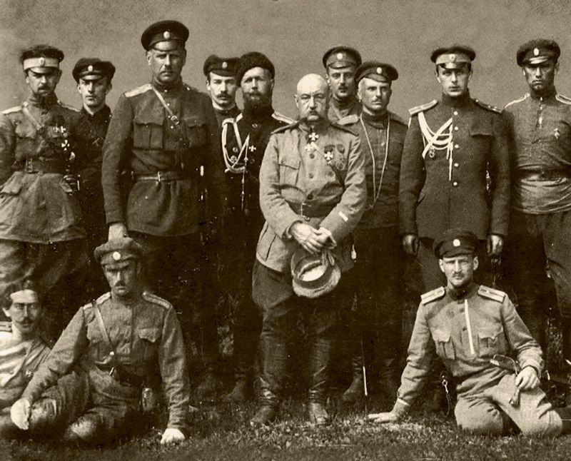 Штаб Северо-Западной армии генерала Н. Юденича
