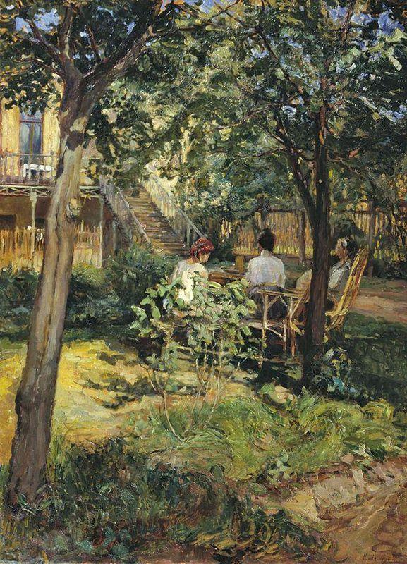 М. Мамонтов. «В саду»