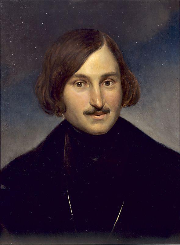 Ф. Моллер. «Портрет Н.В. Гоголя». 1842