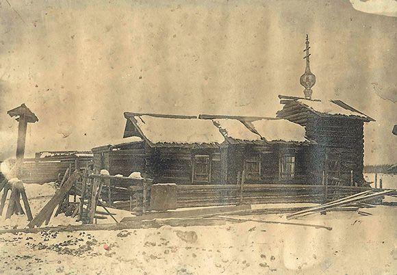 Часовня в деревне Яркиной. 1911
