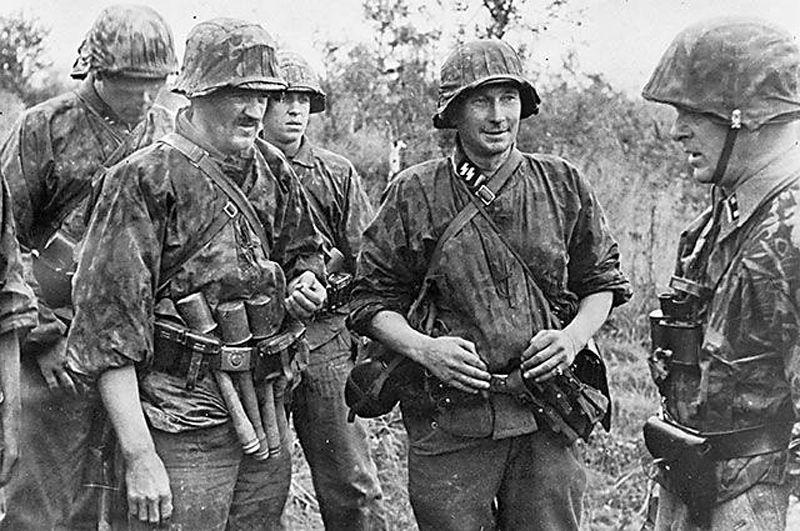 Латвийские добровольцы на Восточном фронте