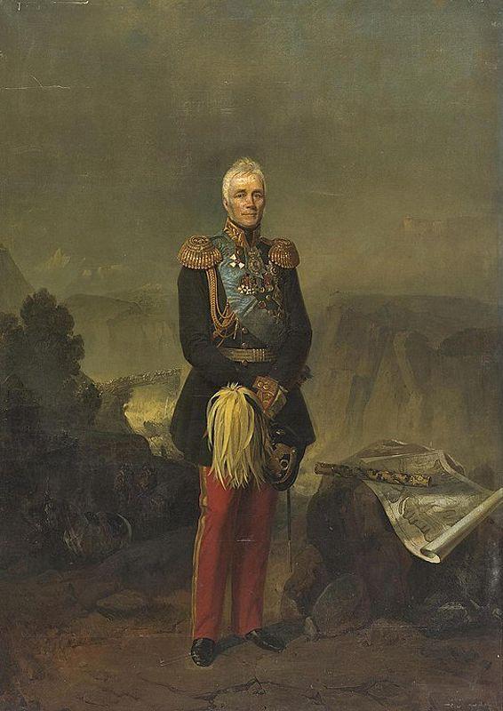 Е. Ботман. Портрет графа М. С. Воронцова
