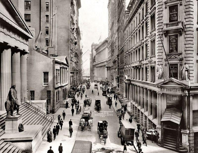 Уолл-стрит. 1911